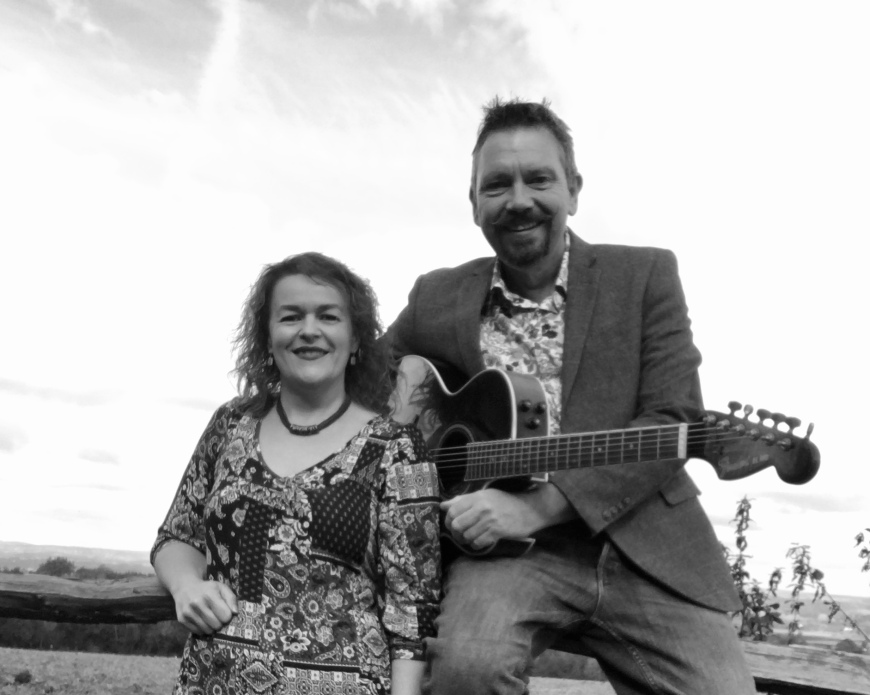 Liquorice Lounge:  Sue Lovell and Chris Tampsett